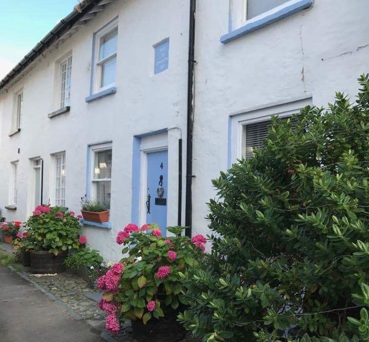Situated on peaceful terrace just off the main square