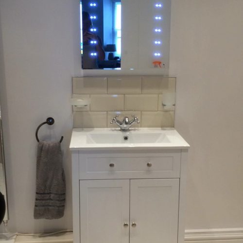 4 Evans Terrace Modern bathroom with large walk in shower